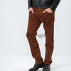 брюки Le Gutti коричневые мужские X-175
