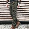 джинсы Iteno 1676-4 карго хаки мужские