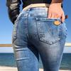джинсы Resalsa 20589 женские рванка