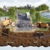 Монтаж трубопровода методом ГНБ.