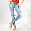 джинсы Lady Forgina кнопки жёлтый ремень 0584