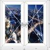 Окно ПВХ поворотное/п-откидное 1200х1200
