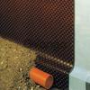 Шиповидня мембрана для гидроизоляции и дренажа отмостки дома
