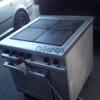 Плита б/у 4 электрическая профессиональная  с духовкой Kuppersbush