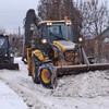 Уборка территории от снега, вывоз снега с погрузкой