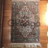 Персидские, китайские шелковые ковры ручной работы небольшого размера.