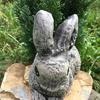"""Садова скульптура """"Красивий зайчик""""Код товару 004"""