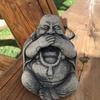 """Декоративна скульптура """"Таємничий Будда""""Код товару 005"""