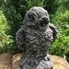 """Садова скульптура """"Мудра сова"""" Код товару 008"""