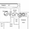 Продается квартира 2-ком 110 м² ул. Срибнокильская, 2а, метро Позняки