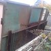 Ворота гаражные с дверьми(лутка с воротами) металлические новые
