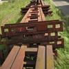 Стойки/опоры/профильная труба 400х200х5 мм длиной 9 и 12 м