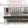 BMS 5S 100А 21V плата защиты Li-Ion аккумулятора c балансиром 4S 3S BMS 5S 60-100А