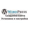Создание сайтов на популярной системе WordPress.