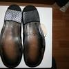 Туфли кожанные мужские летние 27 размер черные
