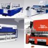 Координатно-штамповочные пресса, лазеры, листогибы TRUMPF, AMADA и др.