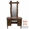 Мебель в деревенском стиле, Трюмо под старину с зеркалом
