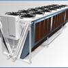 Сухой охладитель фирмы GUNTNER (сухая градирня)